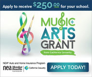 Music and Arts Grant Banner Square